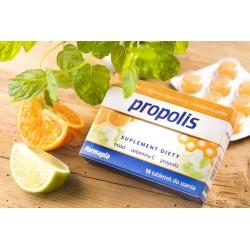 Propolis tabletki do ssania 16 sztuk