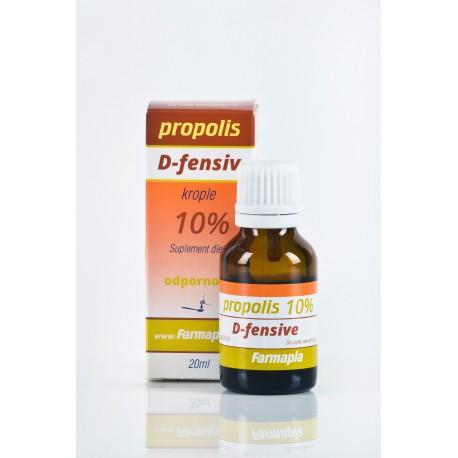 Propolis krople 10% D-fensive 20ml